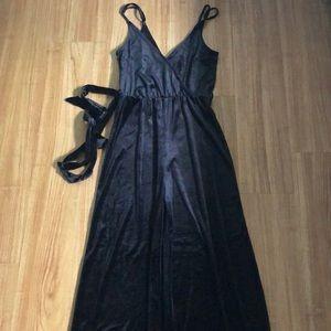 Velvet overall